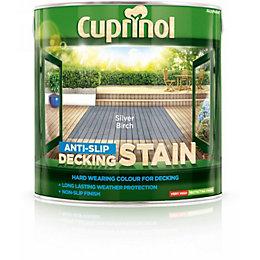 Cuprinol Silver birch Matt Anti Slip Decking stain
