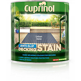 Cuprinol Urban slate Matt Anti Slip Decking stain