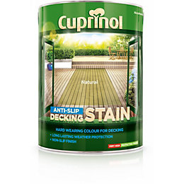 Cuprinol Natural Matt Anti Slip Decking stain 5L