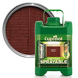 Cuprinol One Coat Sprayable Autumn Brown Shed &