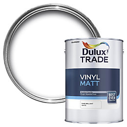 Dulux Trade Trade Pure Brilliant White Matt Emulsion