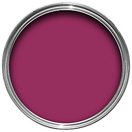 Dulux Feature wall Sumptuous plum Matt Emulsion paint