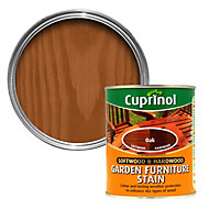 Cuprinol Softwood & hardwood Oak Garden furniture stain 0.75L