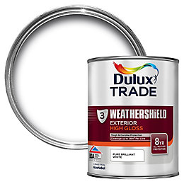 Dulux Trade Exterior Pure Brilliant White Gloss Multipurpose
