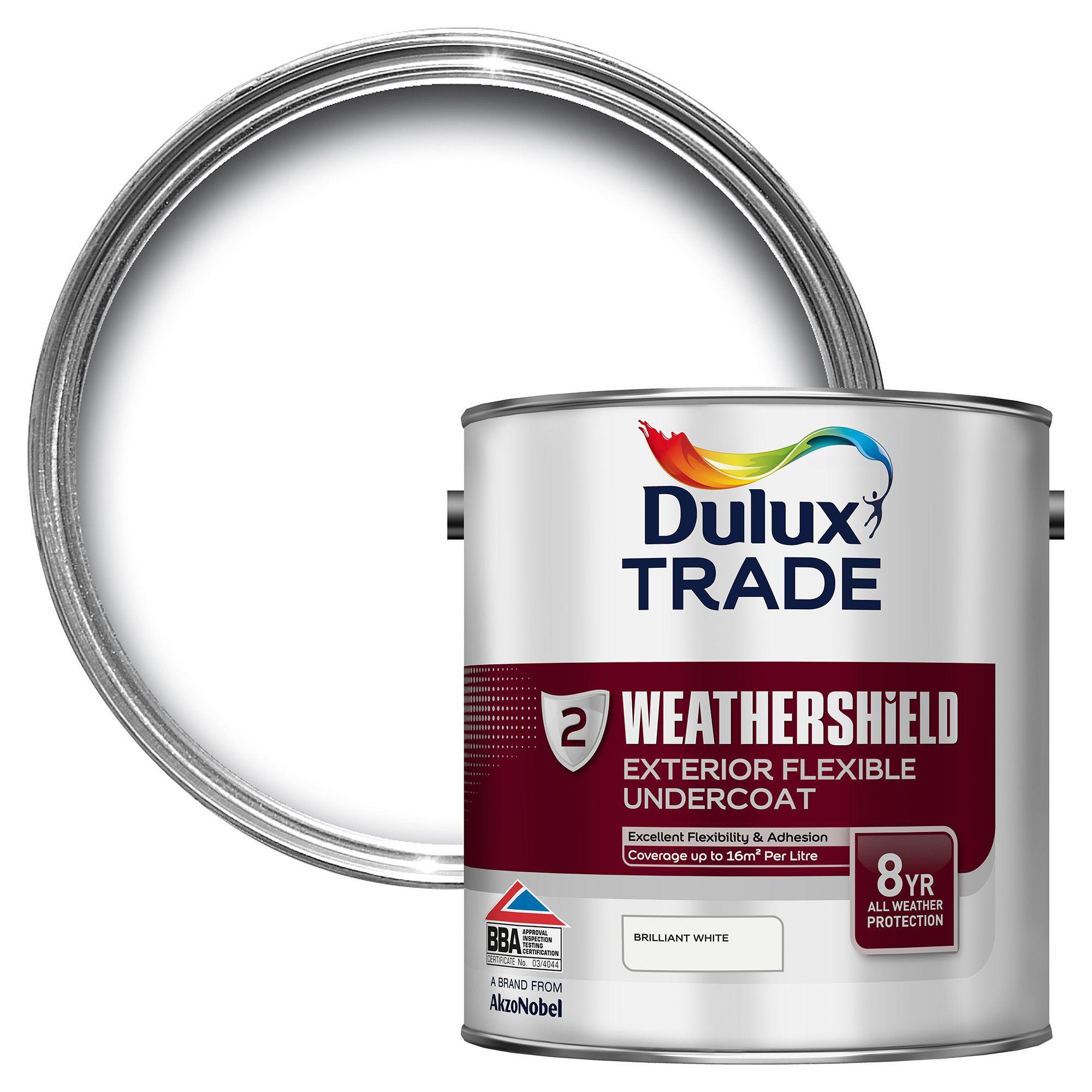 Dulux Trade Weathershield Brilliant White Metal Amp Wood
