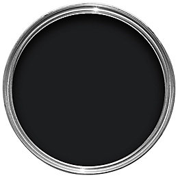Dulux Trade Interior Black High gloss Wood &