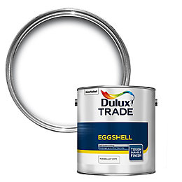Dulux Trade Interior Pure brilliant white Eggshell Wood