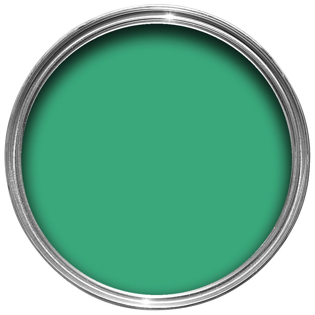 Green Paint Silk