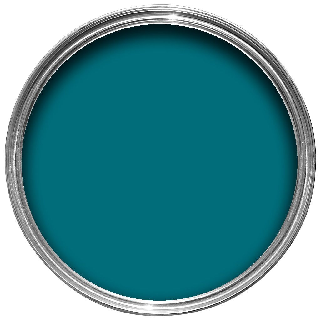 Dulux Made By Me Interior Exterior Totally Teal Gloss Multipurpose Paint Departments