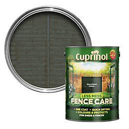 Cuprinol Less Mess Fence Care Woodland Green Matt