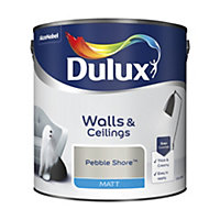 Dulux Pebble shore Matt Emulsion paint 2.5L