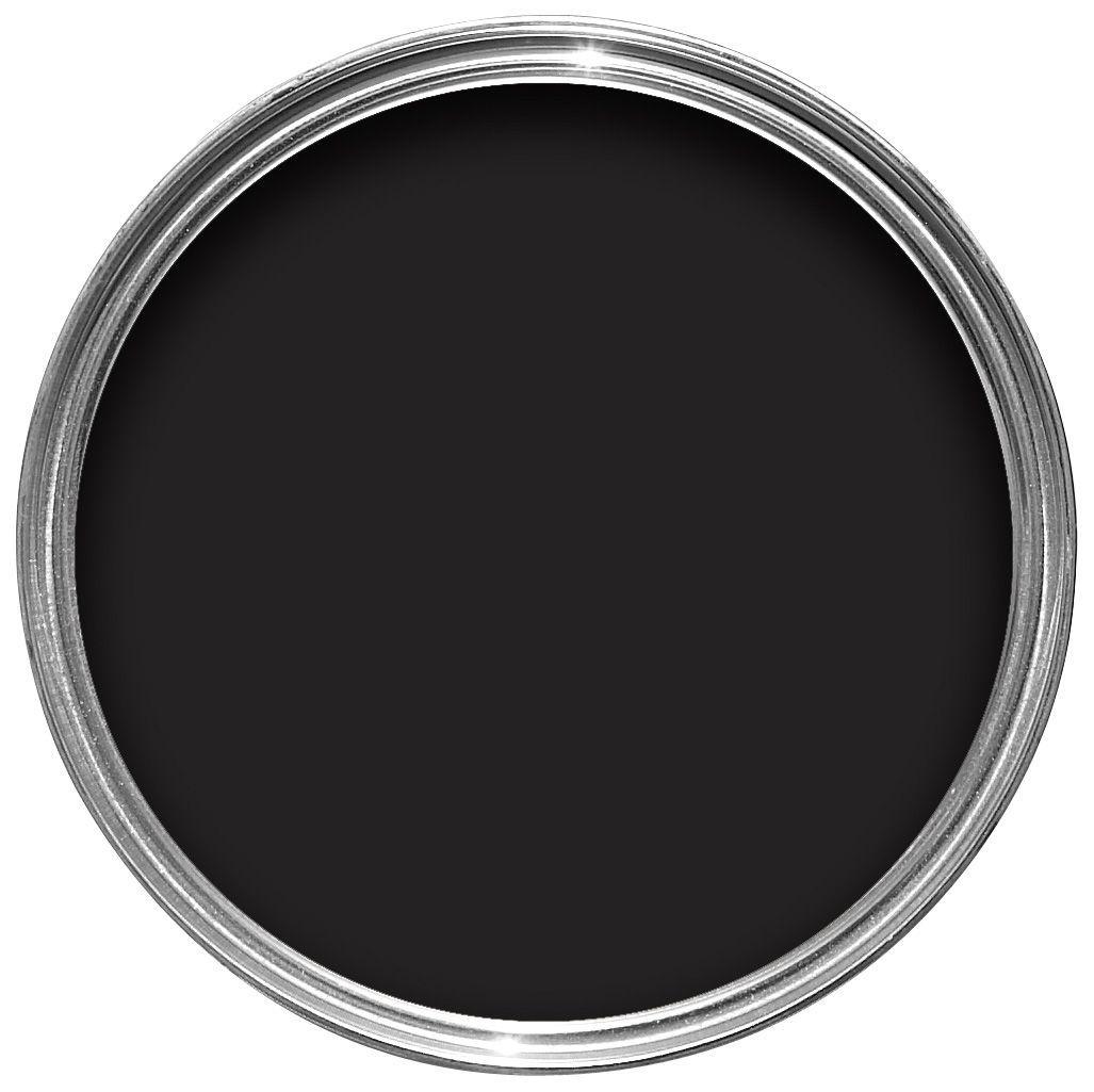 Dulux Bathroom Rich Black Soft Sheen Emulsion Paint 2 5l