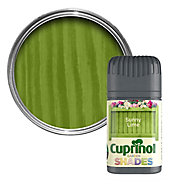 Cuprinol Garden Shades Sunny lime Matt Wood paint 0.05L