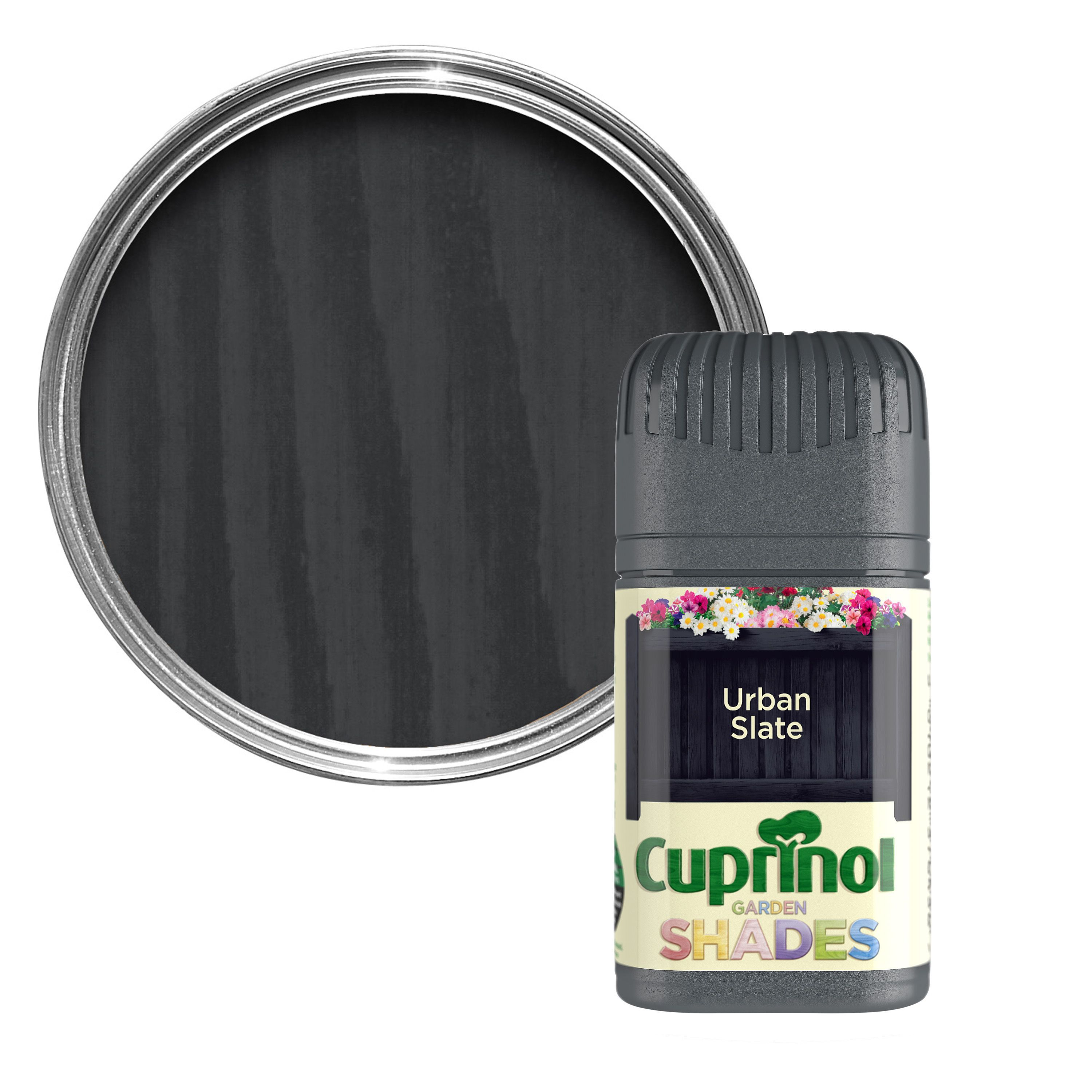 Cuprinol Garden Shades Urban Slate Matt Wood Paint 0 05l