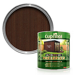 Cuprinol Ultimate Country oak Matt Garden wood preserver