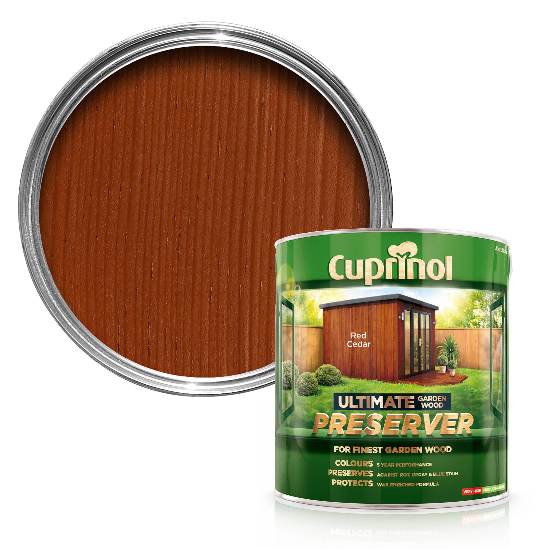 Cuprinol Ultimate Red Cedar Matt Garden Wood Preserver