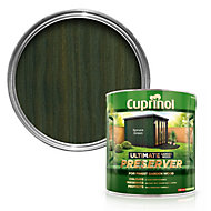 Cuprinol Ultimate Spruce green Matt Garden wood preserver 4L