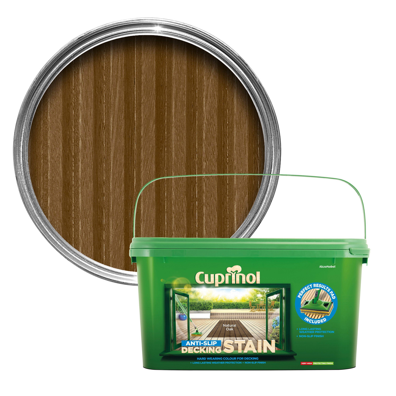 Cuprinol Natural Oak Decking Stain 2 5l Departments Diy At B Amp Q