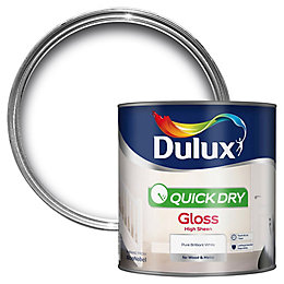 Dulux Interior Pure Brilliant White Gloss Wood &