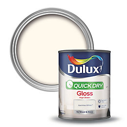 Dulux Interior Jasmine White Gloss Wood & Metal