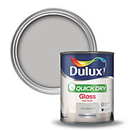 Dulux Chic shadow Gloss Wood & metal paint 0.75L
