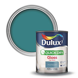 Dulux Interior Proud Peacock Gloss Wood & Metal