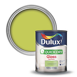 Dulux Interior Luscious Lime Gloss Wood & Metal