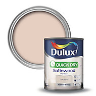 Dulux Soft stone Satinwood Wood & metal paint 0.75L