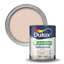 Dulux Interior Soft Stone Satinwood Wood & Metal