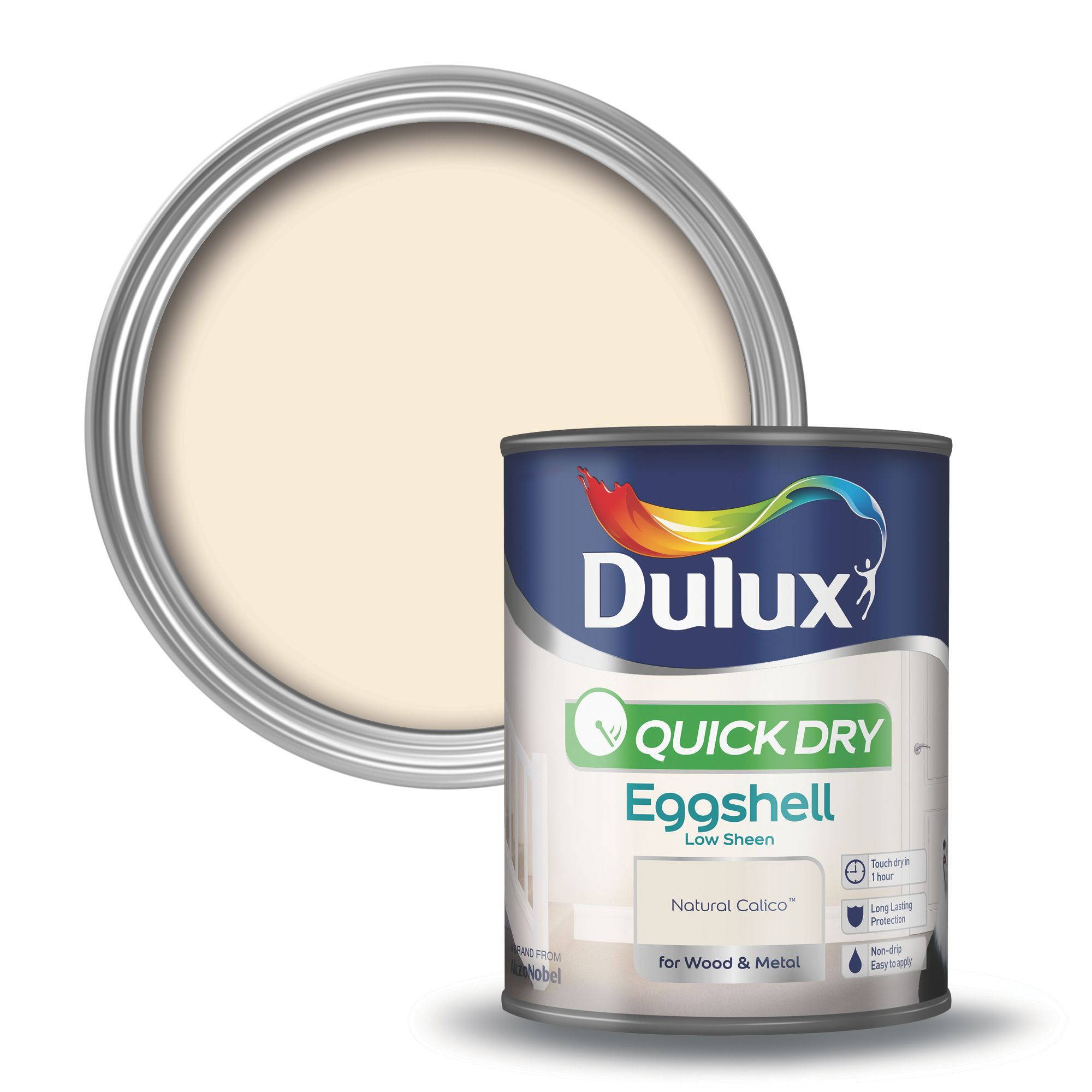 Dulux interior natural calico eggshell wood metal paint - Eggshell paint in bathroom ...