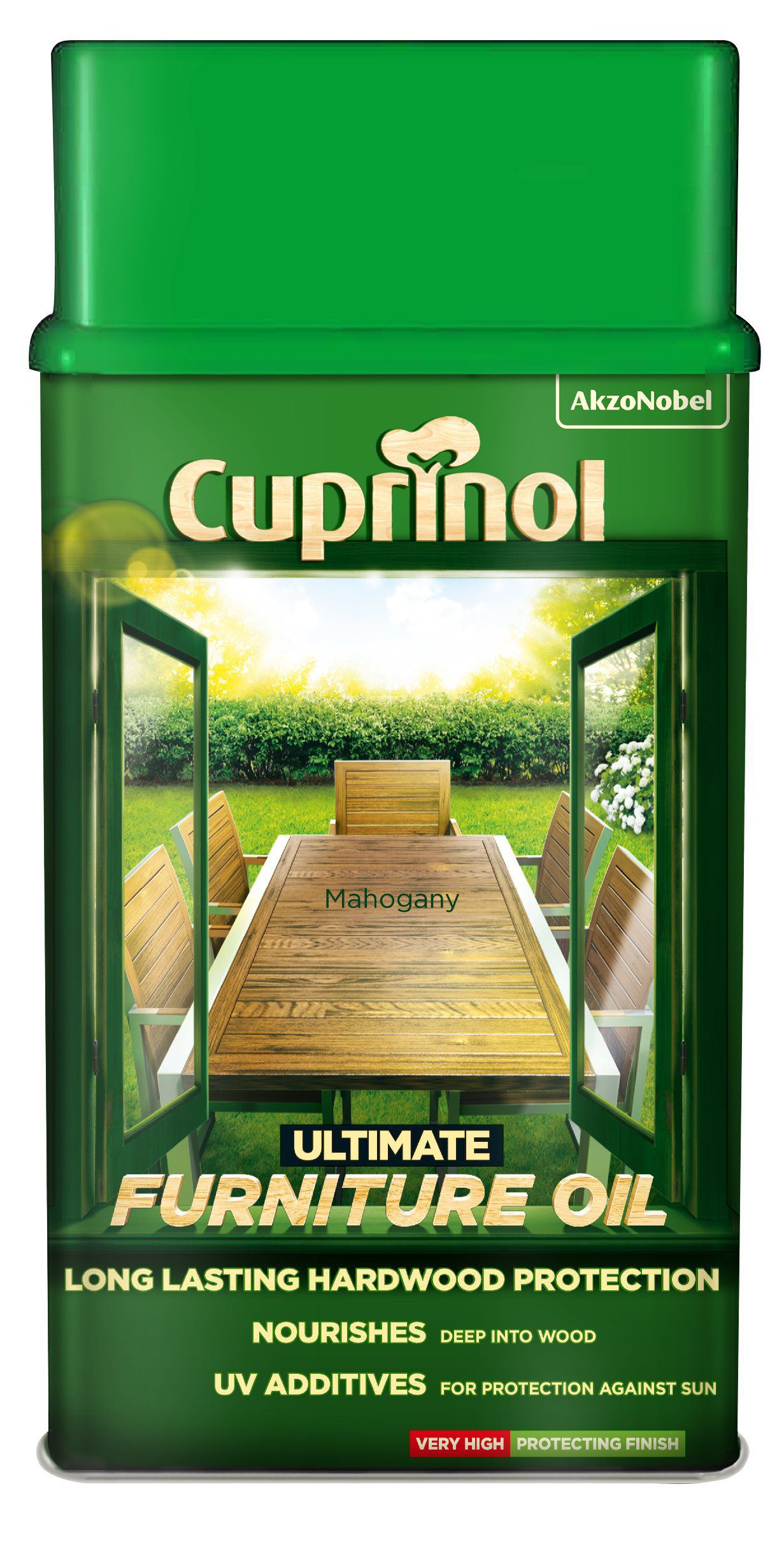 Cuprinol Ultimate Mahogany Furniture Oil 1l Departments