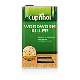 Cuprinol Clear Woodworm killer 5L