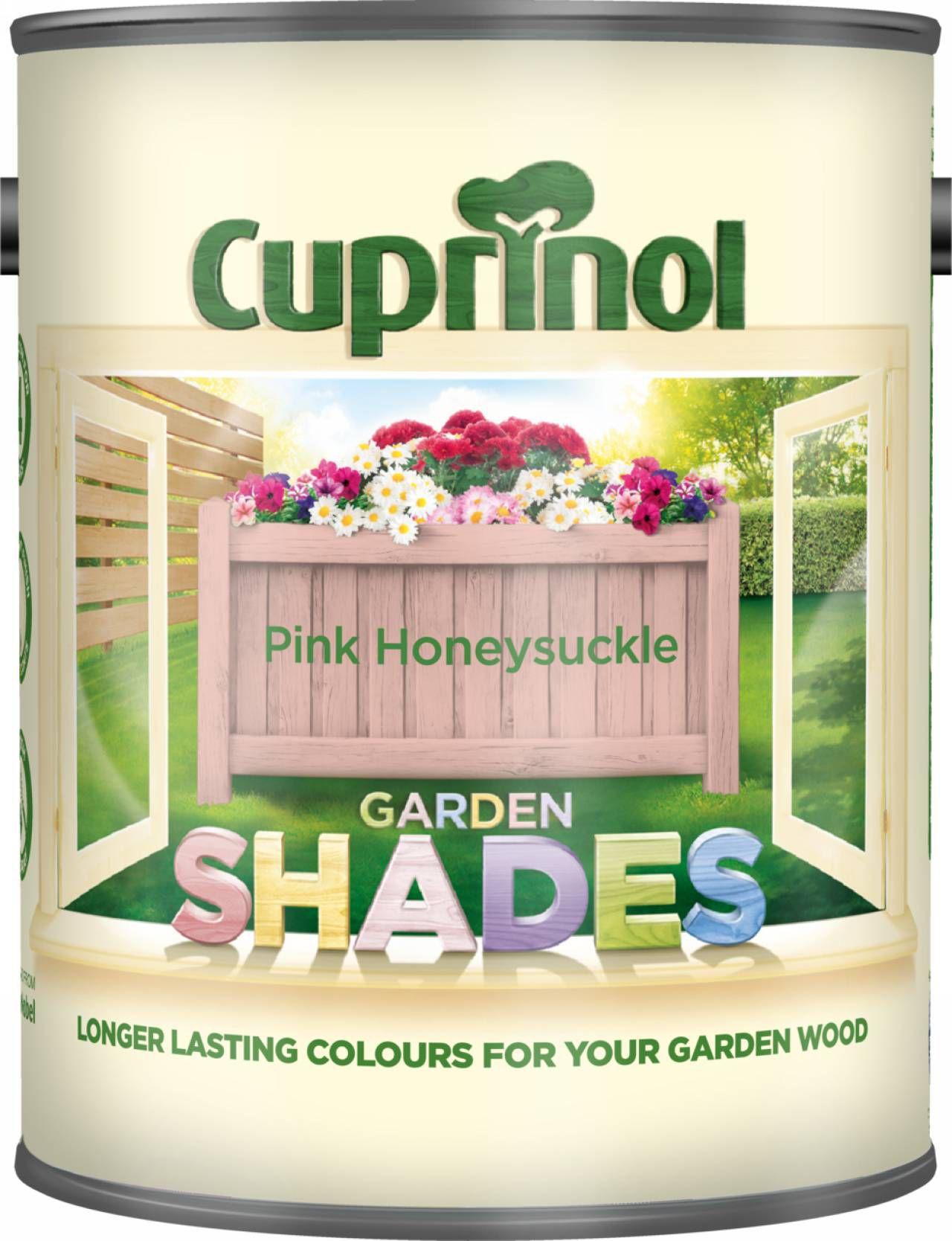 Cuprinol Garden Shades Pink Honeysuckle Matt Wood Paint 1L | Departments |  DIY At Bu0026Q