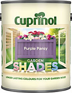 Cuprinol Garden Shades Purple pansy Matt Wood paint 1L