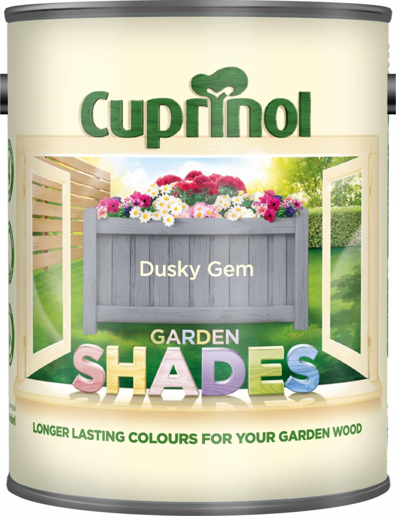 Cuprinol Garden Shades Dusky Gem Matt Wood Paint 1l Departments Diy At B Q