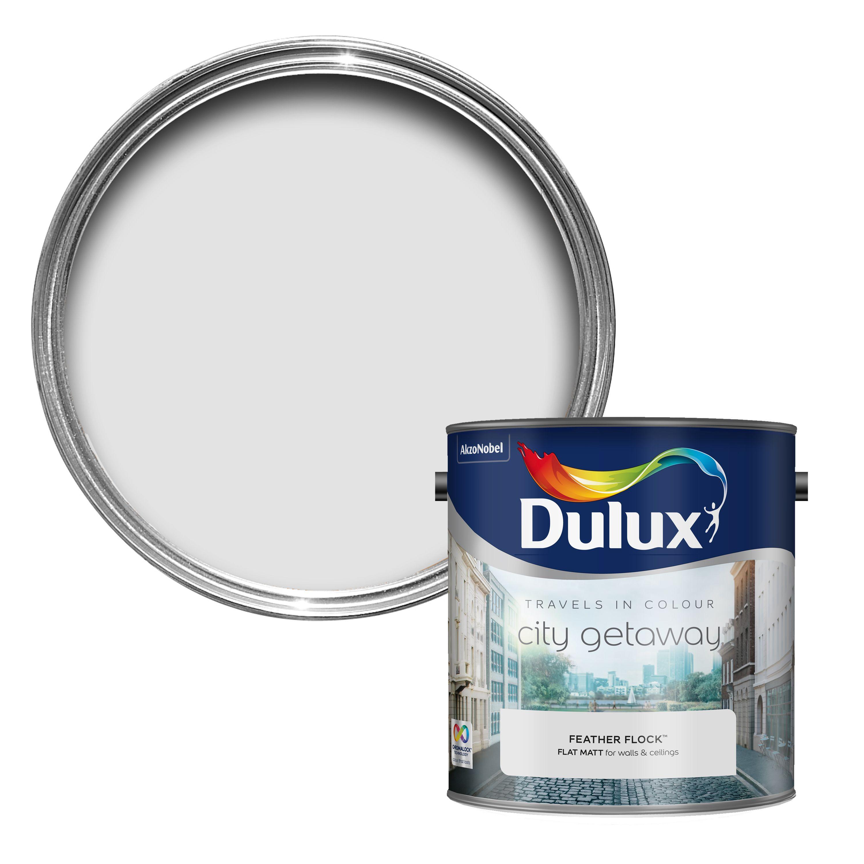 Dulux Travels In Colour Feather Flock Grey Matt Emulsion