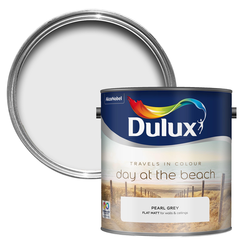 Dulux Travels In Colour Pearl Grey Matt Emulsion Paint 2
