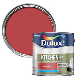 Dulux Kitchen Pepper Red Matt Emulsion Paint 2500ml