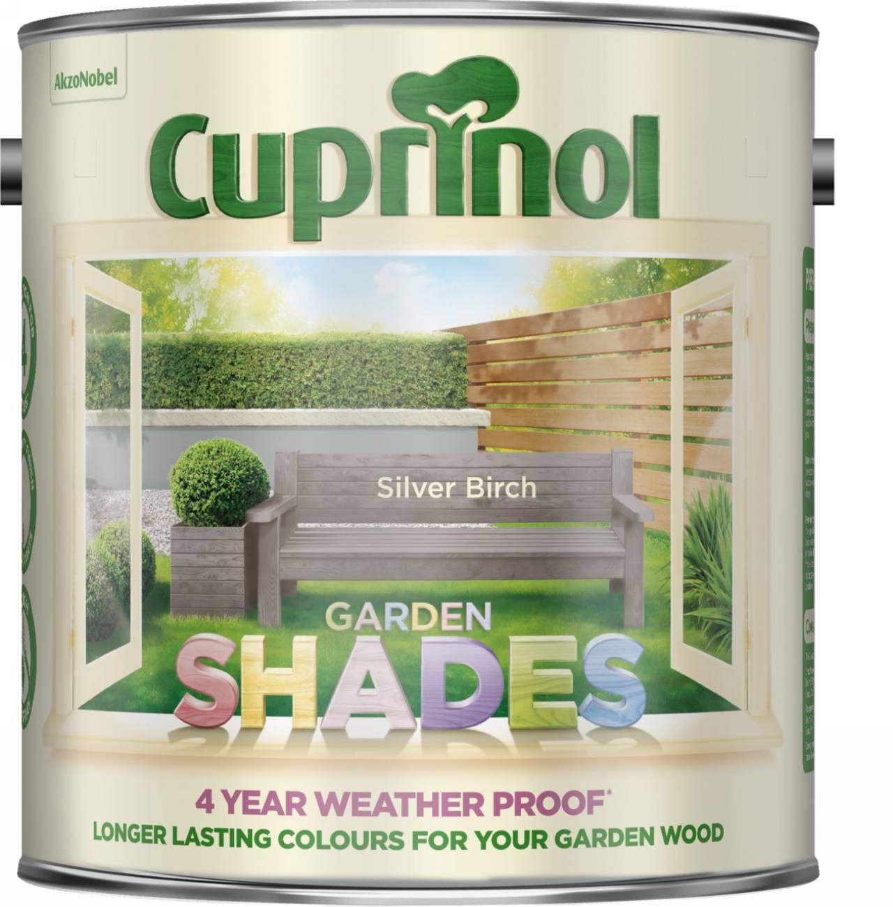 Cuprinol Garden Shades Silver Birch Matt Garden Wood Paint 2.5L |  Departments | DIY At Bu0026Q