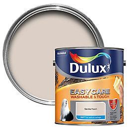 Dulux Easycare Gentle fawn Matt Emulsion paint 2.5L