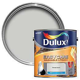 Dulux Easycare Goose down Matt Emulsion paint 2.5L