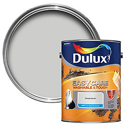 Dulux Easycare Goose down Matt Emulsion paint 5