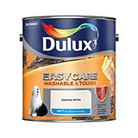 Dulux Easycare Jasmine white Matt Emulsion paint 2.5L