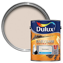 Dulux Easycare Natural hessian Matt Emulsion paint 5