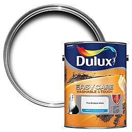 Dulux Easycare Pure Brilliant White Matt Emulsion Paint