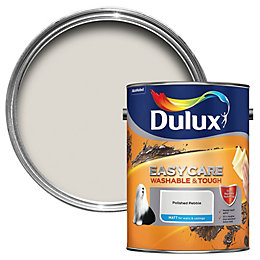 Dulux Easycare Polished pebble Matt Emulsion paint 5