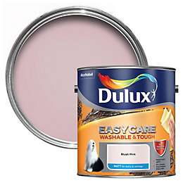 Dulux Easycare Blush pink Matt Emulsion paint 2.5L