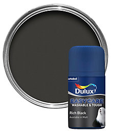 Dulux Easycare Rich Black Matt Emulsion Paint 0.05L