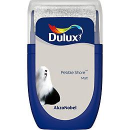 Dulux Standard Pebble shore Matt Emulsion paint 0.03L