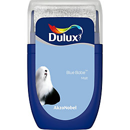 Dulux Standard Blue babe Matt Emulsion paint 0.03L